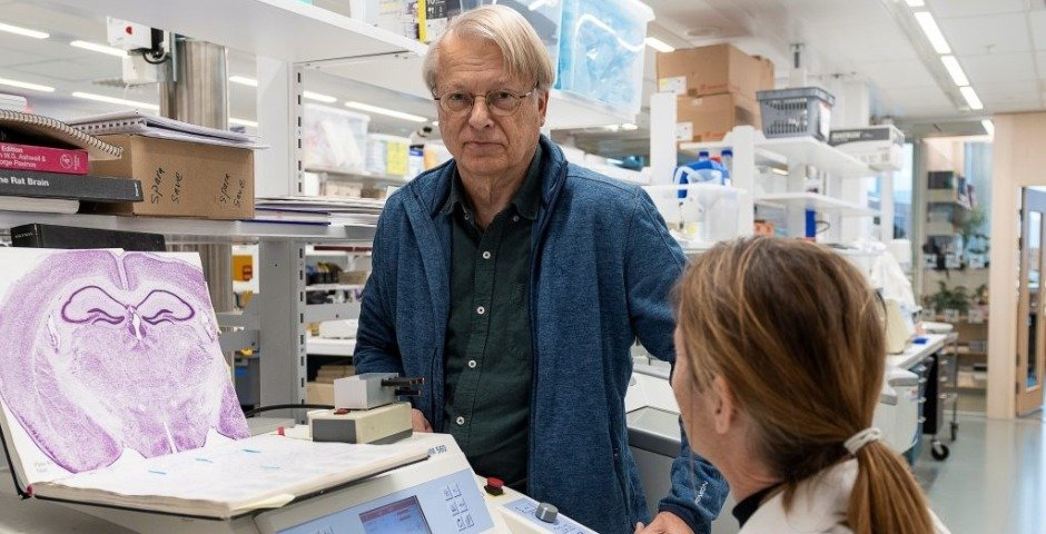 Lars Olson, professor i neurologi på Karolinska Institutet