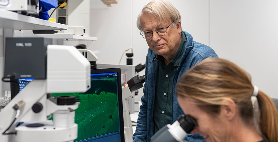 Lars Olson, professor på Karolinska Institutet